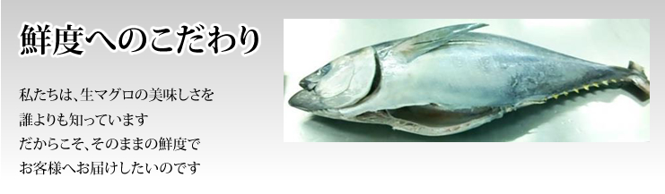 We know the taste of tuna than anyone and hence we would like to deliver to our customers ensuring the freshness.